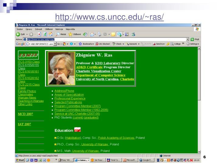 http://www.cs.uncc.edu/~ras/