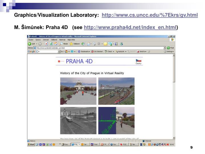 Graphics/Visualization Laboratory