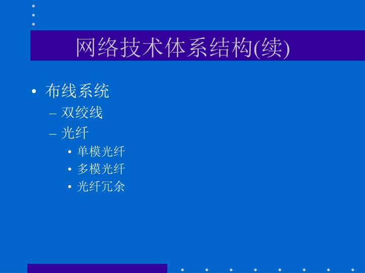 网络技术体系结构