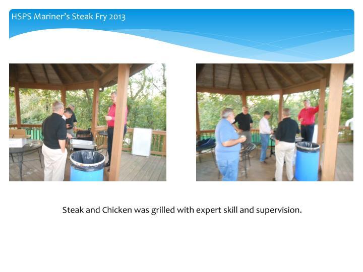 HSPS Mariner's Steak Fry 2013