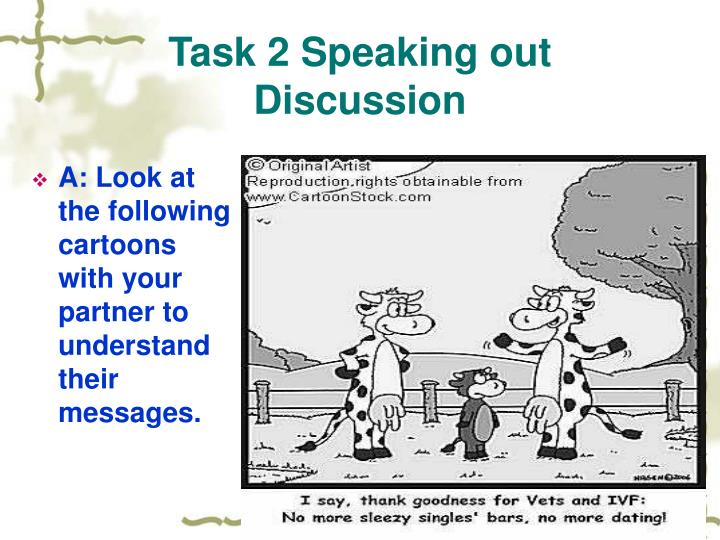 Task 2 Speaking out