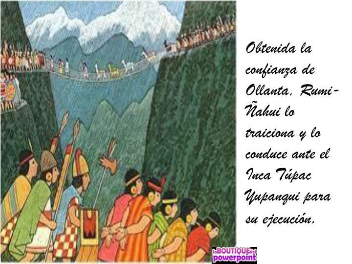 Obtenida la confianza de Ollanta,