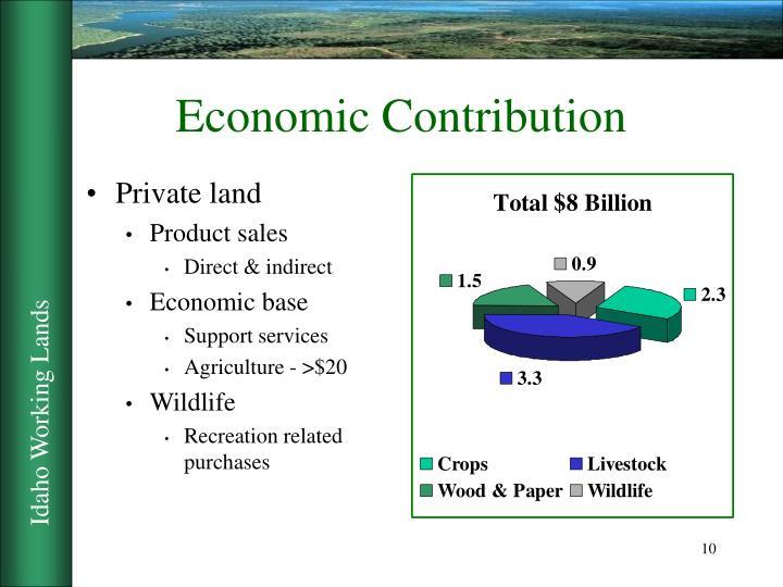 Economic Contribution