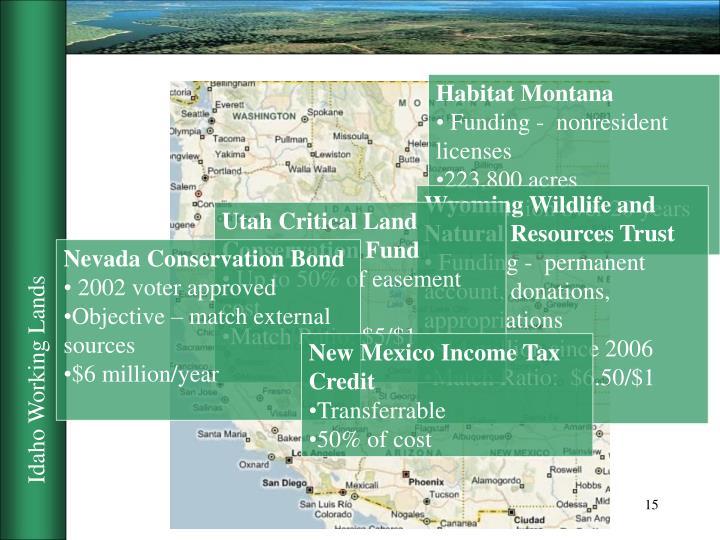 Habitat Montana