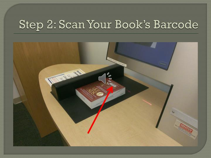 Step 2: Scan Your Book's Barcode