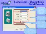 configuration channel setup serial example