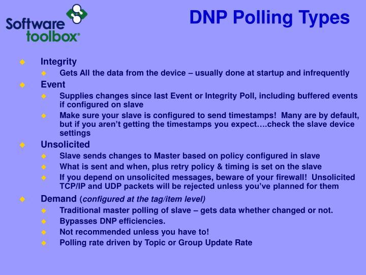 DNP Polling Types