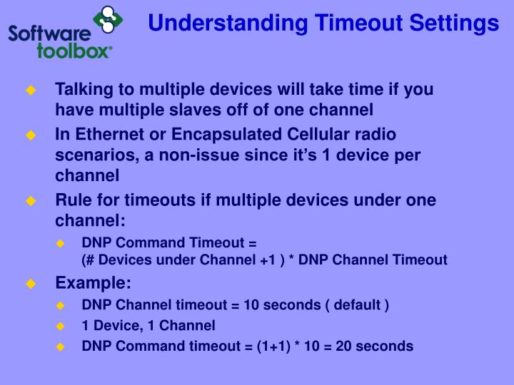 Understanding Timeout Settings