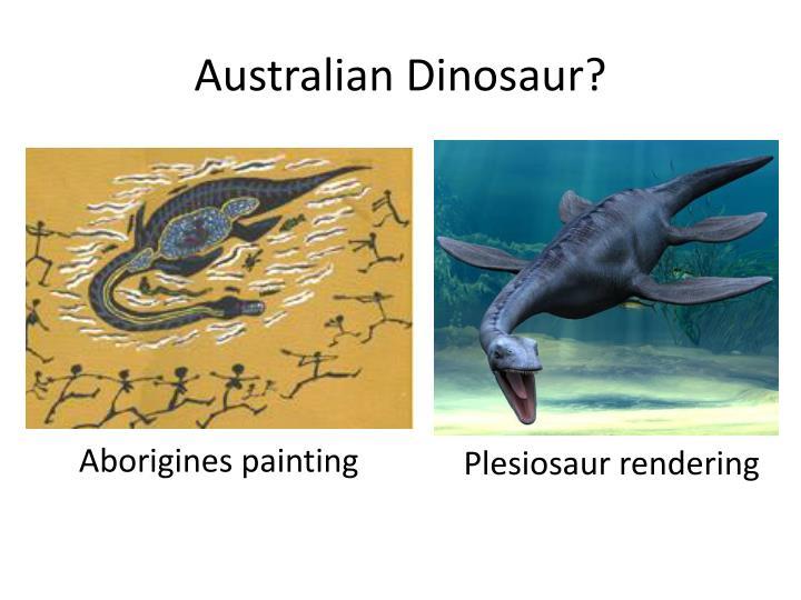 Australian Dinosaur?