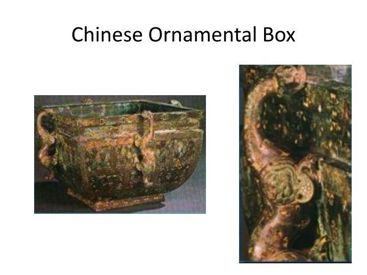 Chinese Ornamental Box