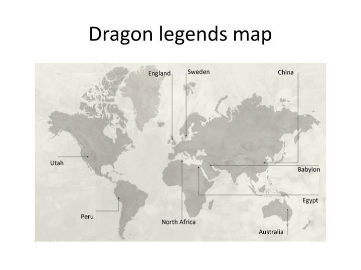 Dragon legends map