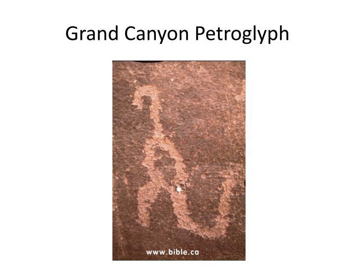 Grand Canyon Petroglyph
