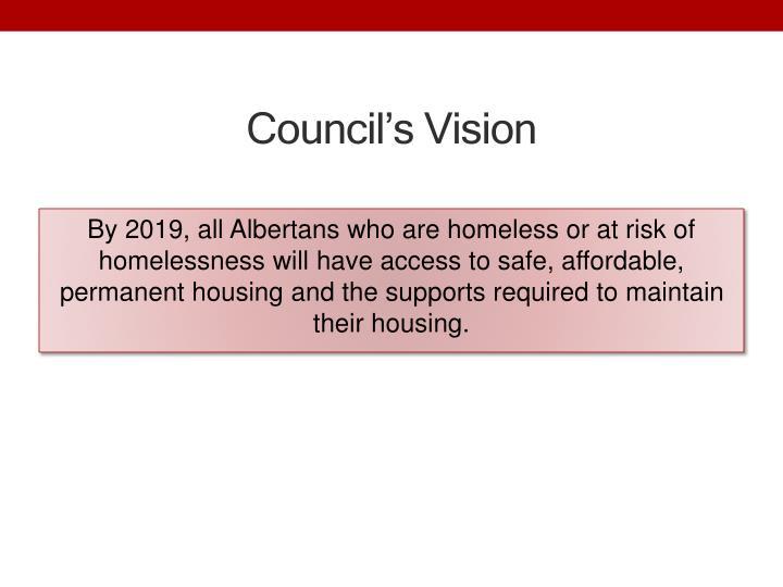 Council's Vision