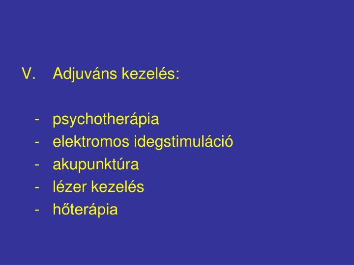 Adjuváns kezelés: