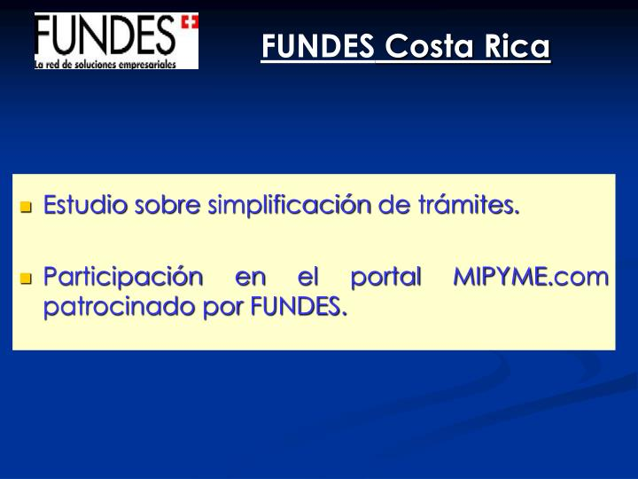 FUNDES