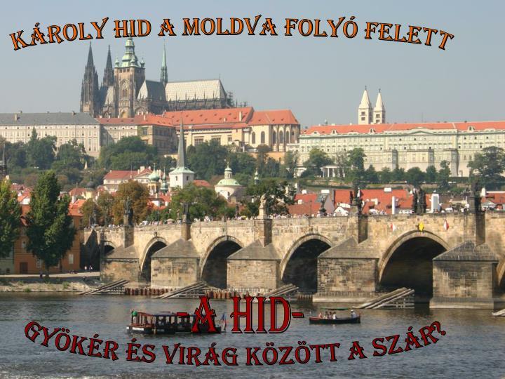 Károly Hid a Moldva folyó felett