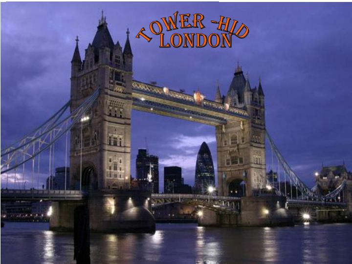 Tower -hid