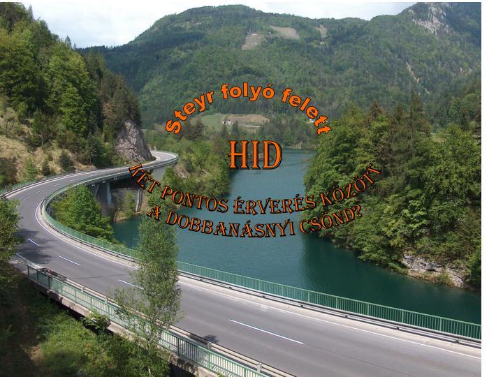 Steyr folyó felett