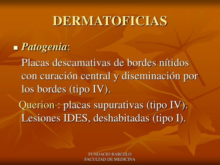 DERMATOFICIAS