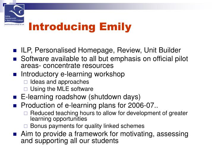 Introducing Emily