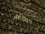 we are women disciples seized by the love of