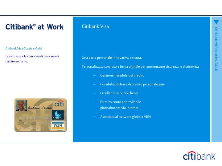 Citibank Visa