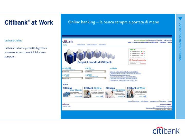 Online banking – la banca sempre a portata di mano