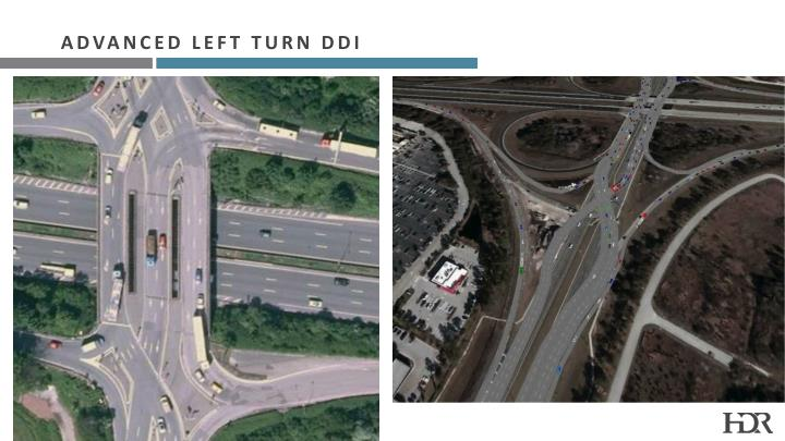 Advanced Left Turn DDI