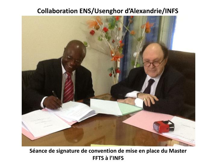 Collaboration ENS/