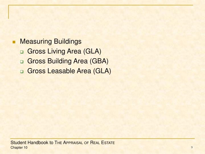 Measuring Buildings