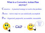 what is a corrective action plan anyway