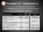 example 2 employee 1