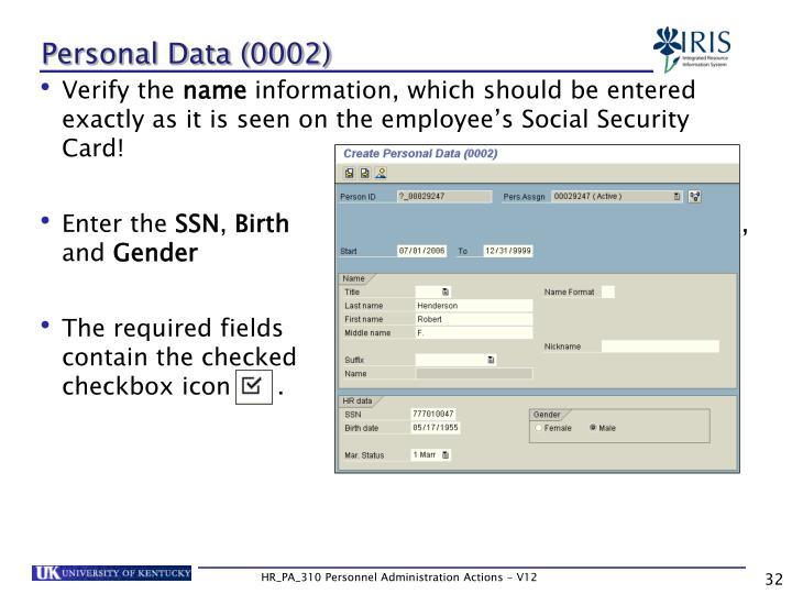 Personal Data (0002)