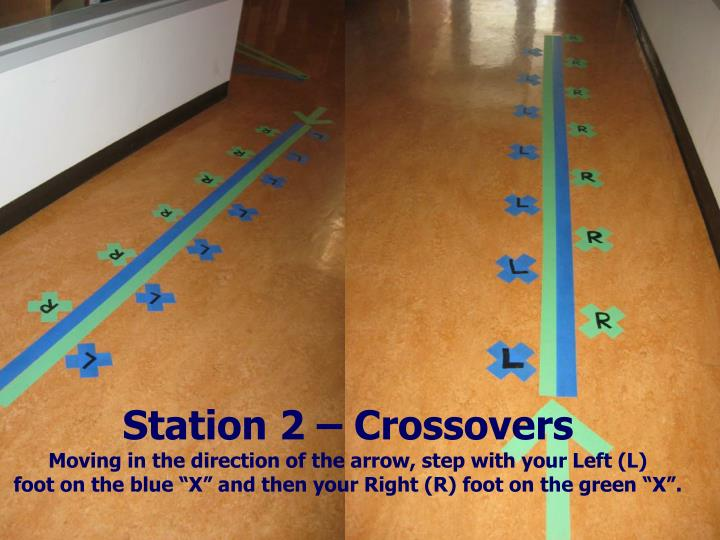 Station 2 – Crossovers