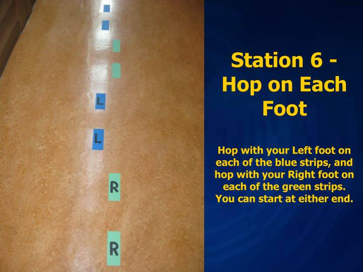 Station 6 -