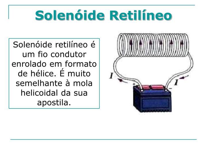 Solenóide Retilíneo