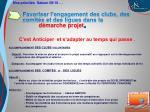 favoriser l engagement des clubs des comit s et des ligues dans la d marche projet