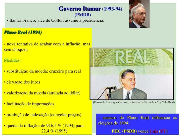 Governo Itamar