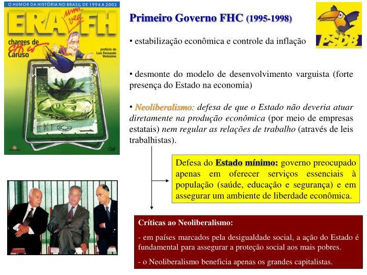 Primeiro Governo FHC