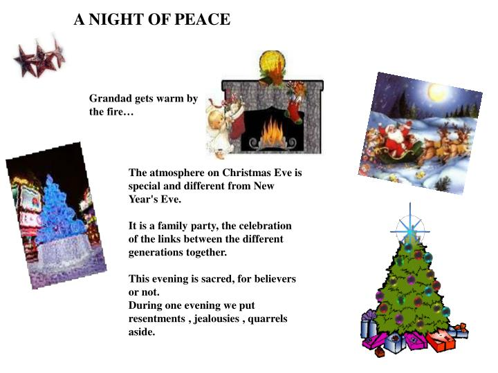 A NIGHT OF PEACE