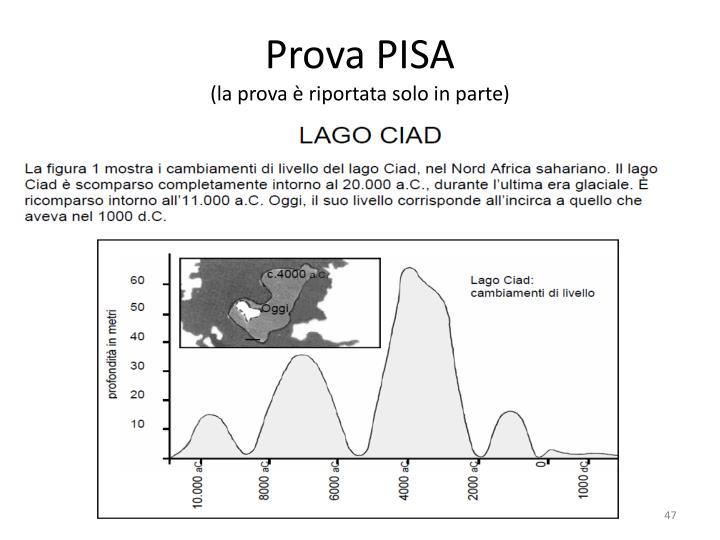 Prova PISA