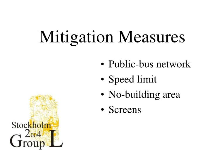 Mitigation Measures
