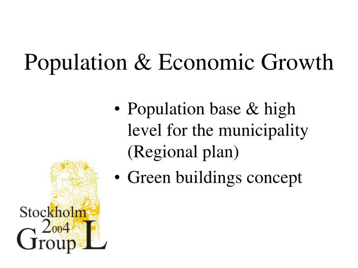 Population & Economic Growth
