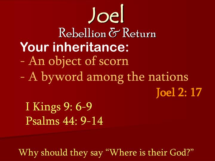 Your inheritance:
