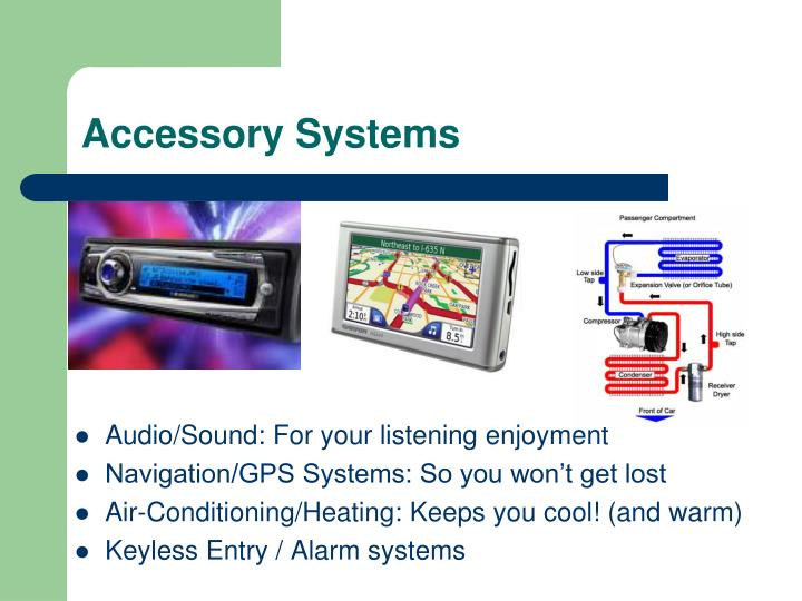 Accessory Systems