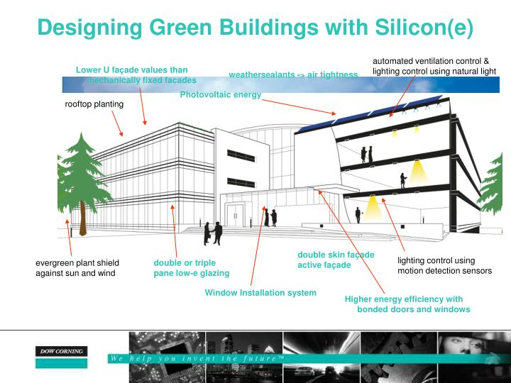 Designing Green Buildings with Silicon(e)