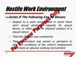 hostile work environment1