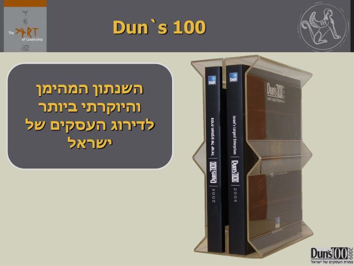 Dun`s 100