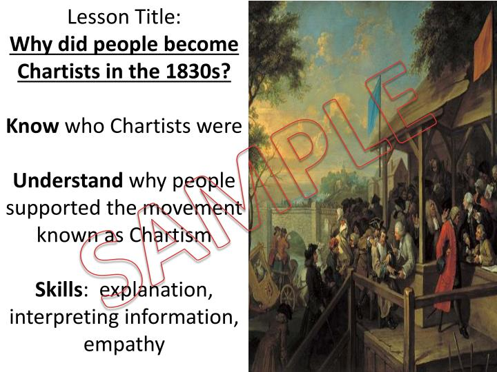 chartists and chartism essay
