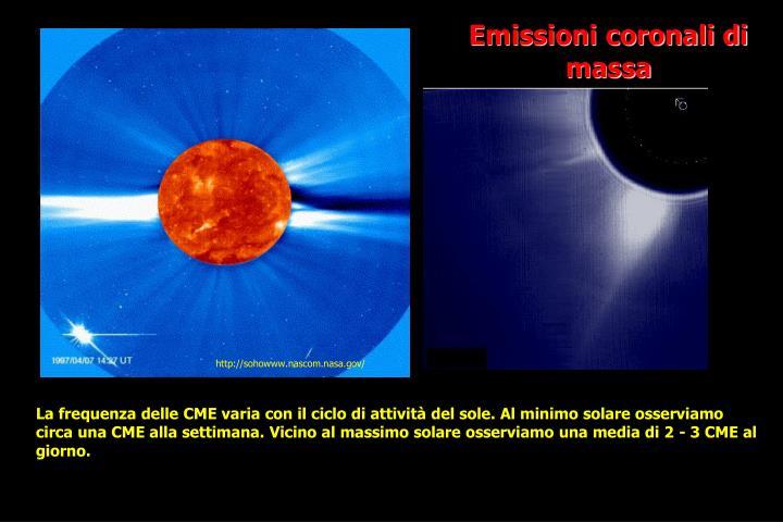 Emissioni coronali di massa